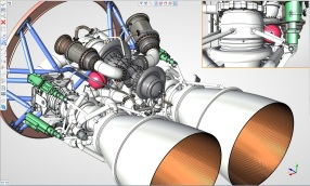 CAD-rocket engines