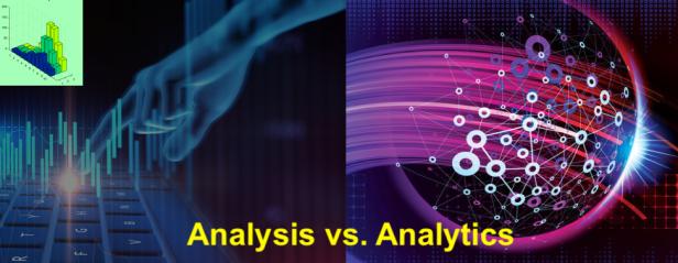 Analysis vs Analytics